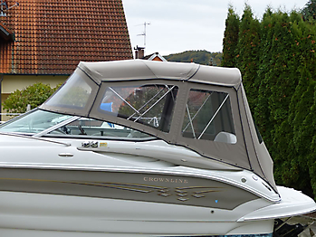 Camperverdeck Crownline 250 CR Sunbrella Plus Taupe 04