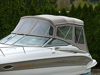 Camperverdeck Crownline 250 CR Sunbrella Plus Taupe 06