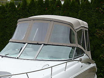 Camperverdeck Crownline 250 CR Sunbrella Plus Taupe 07
