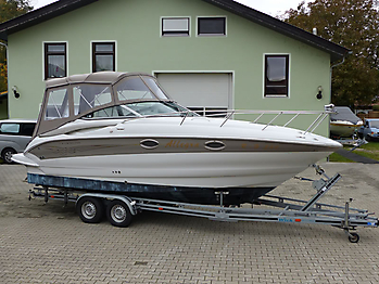 Camperverdeck Crownline 250 CR Sunbrella Plus Taupe 11