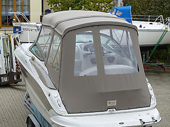 Camperverdeck Crownline 250 CR Sunbrella Plus Taupe 16