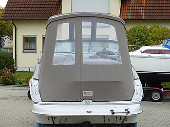 Camperverdeck Crownline 250 CR Sunbrella Plus Taupe 17