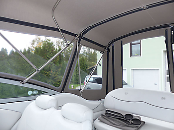Camperverdeck Crownline 250 CR Sunbrella Plus Taupe 22