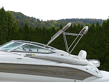 Camperverdeck Crownline 250 CR Sunbrella Plus Taupe 24