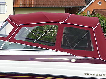 Verdeck Crownline 266 CCR Bootsverdeck Persenning 22