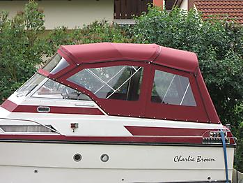 Verdeck Doriff 770 Persenning 04