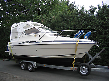 Originalverdeck Fairline 21 01