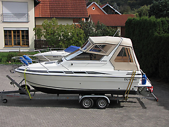 Verdeck Fairline 21 Persenning 01