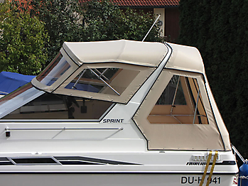 Verdeck Fairline 21 Persenning 02