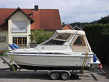 Verdeck Fairline 21 Persenning 03