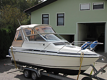 Verdeck Fairline 21 Persenning 07