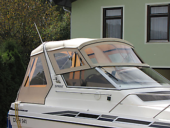 Verdeck Fairline 21 Persenning 08