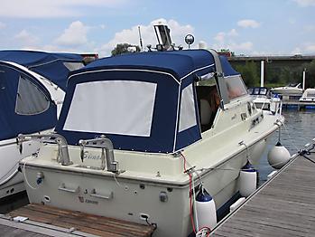 Verdeck Fjord 30 WE Persenning  05