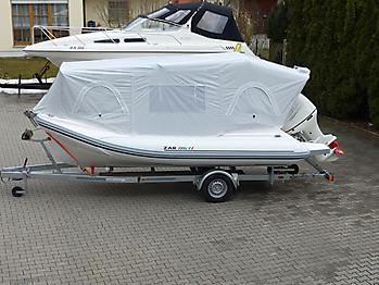 Nautisches Zelt Formenti ZAR 59SL Verdeck  01