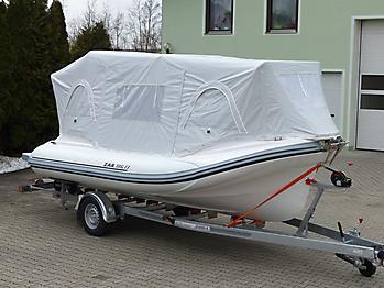 Nautisches Zelt Formenti ZAR 59SL Verdeck  05