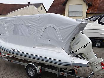 Nautisches Zelt Formenti ZAR 59SL Verdeck  06