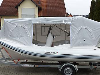 Nautisches Zelt Formenti ZAR 59SL Verdeck  08