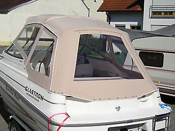 Verdeck Glastron GS 209 Persenning 08