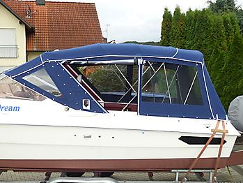 Verdeck Hohmann H9 Bootsverdeck Persenning 14