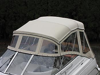 Verdeck Maxum 2400 SCR Persenning 06