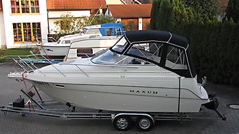 Verdeck Maxum 2400 SCR Persenning  01