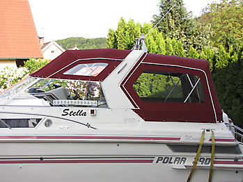 Verdeck Polar 290 Monaco Persenning 10