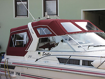 Verdeck Polar 290 Monaco Persenning 14