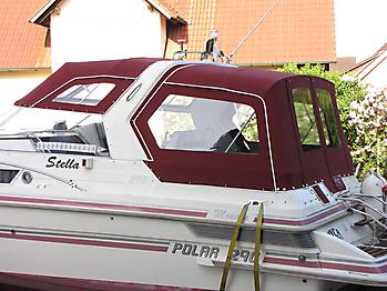 Verdeck Polar 290 Monaco Persenning 16