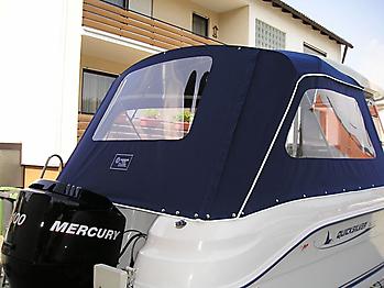 Verdeck Quicksilver 630 Pilothouse Persenning 03