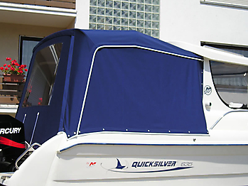 Verdeck Quicksilver 635 Pilothouse Persenning 02