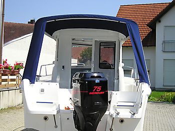 Verdeck Quicksilver 635 Pilothouse Persenning 05