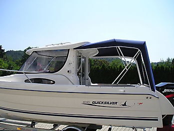 Verdeck Quicksilver 635 Pilothouse Persenning 06