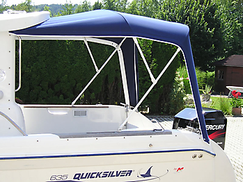 Verdeck Quicksilver 635 Pilothouse Persenning 07