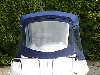 Verdeck Quicksilver activ 430 cabin Bootsverdeck Persenning 05