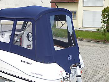 Verdeck Quicksilver activ 430 cabin Bootsverdeck Persenning 09