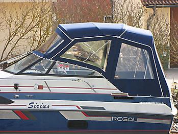 Verdeck Regal 233 XL Ambassador Persenning 03