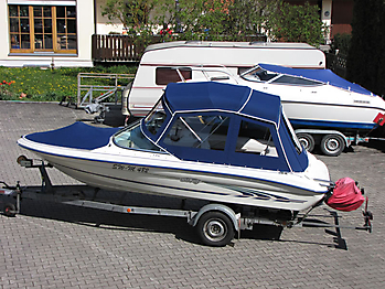 Verdeck Sea Ray 175 Persenning 01
