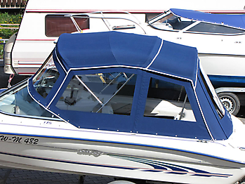 Verdeck Sea Ray 175 Persenning 02