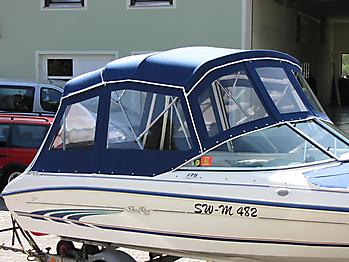 Verdeck Sea Ray 175 Persenning 08