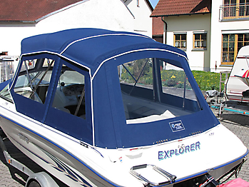 Verdeck Sea Ray 175 Persenning 09