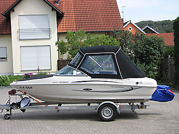 Verdeck Sea Ray 175 Sport Persenning 03