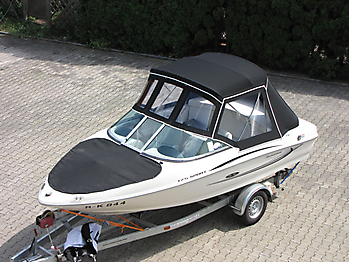 Verdeck Sea Ray 175 Sport Persenning 05