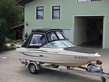 Verdeck Sea Ray 175 Sport Persenning 10