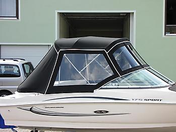 Verdeck Sea Ray 175 Sport Persenning 12