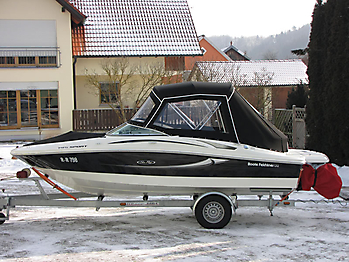 Verdeck Sea Ray 195 Sport Persenning 03