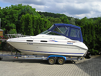 Verdeck Sea Ray 230 Sundancer Persenning  02