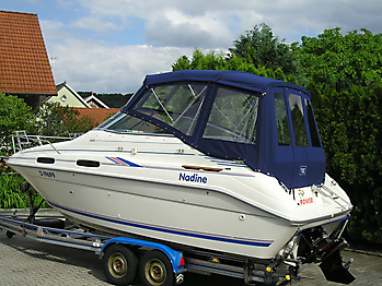 Verdeck Sea Ray 230 Sundancer Persenning  04