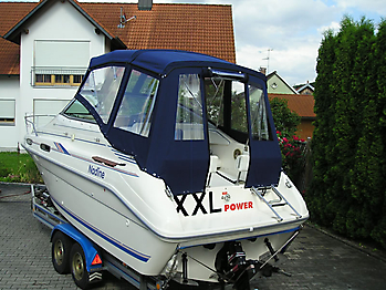 Verdeck Sea Ray 230 Sundancer Persenning  06