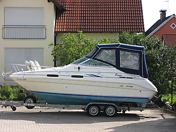 Verdeck Sea Ray 230 Sundancer Persenning  03