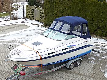 Verdeck Sea Ray 230 DA Bootsverdeck Persenning 06